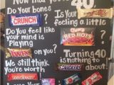 Birthday Present for Man Turning 40 16 Best Images About Candy Bar Boards On Pinterest Candy