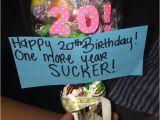Birthday Present Ideas for Boyfriend 20th 20th Birthday Idea Gift Ideas Best