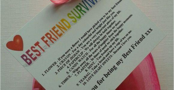 Birthday Presents for Good Friends Best Friend Survival Kit Birthday Christmas Buy 2 Get 1