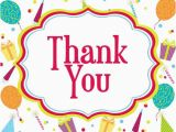 Birthday Thank You Cards Images Saying Thank You for Birthday Wishes Thank You