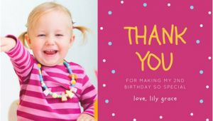 Birthday Thank You Cards with Photo 10 Birthday Thank You Cards Design Templates Free
