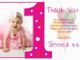Birthday Thank You Cards with Photo 1st Birthday Quotes for Cards Quotesgram