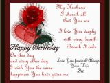 Birthday Wishes for Spouse Greeting Cards Happy Birthday Husband Funny Quotes Quotesgram