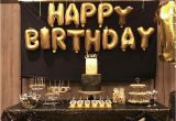 Black and Gold 30th Birthday Decorations 25 Best Ideas About Black Gold Party On Pinterest Black