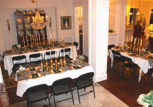 Black And Gold 30th Birthday Decorations White My Dinner Party