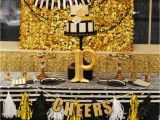 Black and Gold 50th Birthday Party Decorations Black and Gold Leopard Skin Birthday Quot Glamorous Black