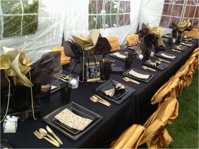 Download By SizeHandphone Tablet Desktop Original Size Back To Black And Gold 50th Birthday Party Decorations