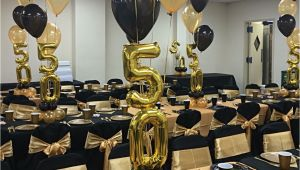 Black and Gold 50th Birthday Party Decorations Https Www Birthdays Durban 30 Year Old Birthday Party
