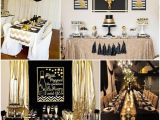 Black and Gold 60th Birthday Decorations 25 Best Ideas About Black Gold Party On Pinterest Black