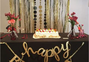 Black And Gold 60th Birthday Decorations 25 Best Ideas About Party On Pinterest