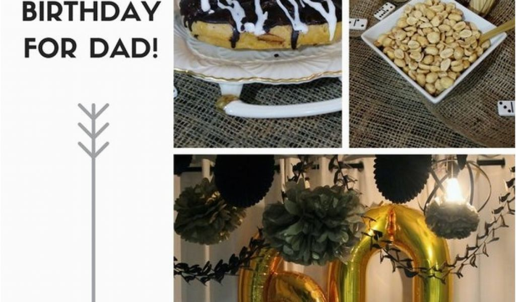 Black And Gold 60th Birthday Decorations