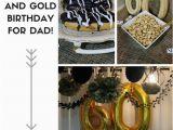 Black and Gold 60th Birthday Decorations Black and Gold 60th Birthday Party for Dad Alicia Ever after