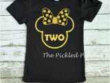Black and Gold Birthday Girl Shirt Black Gold Glitter Minnie Mouse Birthday Shirt 1st Birthday