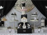 Black and Silver 21st Birthday Decorations Runway Catwalk Fashion Birthday Party Ideas Photo 1 Of