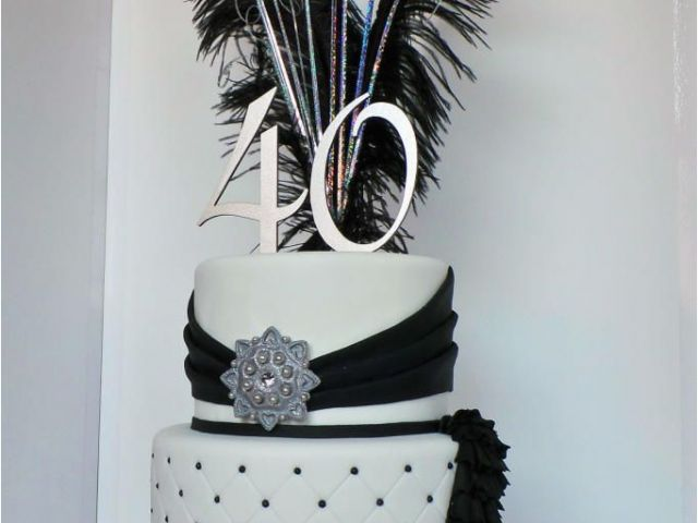 Download By SizeHandphone Tablet Desktop Original Size Back To Black And Silver 40th Birthday Decorations
