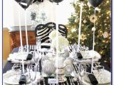 Black and Silver 50th Birthday Decorations 50th Birthday Party Decorations Black and Silver