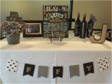 Black and Silver 50th Birthday Decorations Birthday Surprise Party 50th Birthday Male Birthday