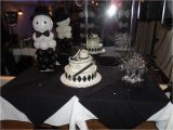 Black and Silver 50th Birthday Decorations White Silver and Black Party Decorations by Teresa