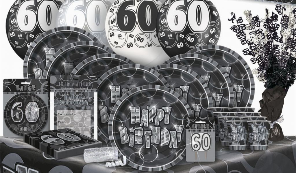 Download By SizeHandphone Tablet Desktop Original Size Back To Black And Silver 60th Birthday Decorations