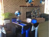 Black and Silver 60th Birthday Decorations Blue Black and Silver 60th Birthday Decorations Mom 39 S