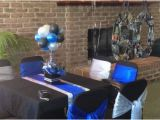 Black and Silver 60th Birthday Decorations Blue Black and Silver 60th Birthday Decorations My