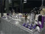 Black and Silver 60th Birthday Decorations Purple Black White and Silver Birthday Party Ideas