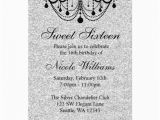 Black and Silver Birthday Invitations Personalized Black and Silver Invitations