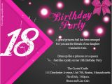 Black and White 18th Birthday Decorations 18th Birthday Party Invitation Wording Wordings and Messages