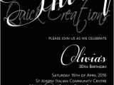 Black and White 30th Birthday Invitations Adult Birthday Invitations Black White 30th Birthday