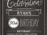 Black and White 30th Birthday Invitations Free 30th Birthday Invitations Templates Free Invitation