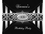 Black and White 30th Birthday Invitations Most Popular 30th Birthday Party Invitations