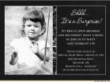 Black and White 30th Birthday Invitations Surprise 30th Birthday Party Invitation Ideas New Party