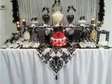 Black and White 40th Birthday Party Decorations 35 Birthday Table Decorations Ideas for Adults Table
