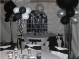 Black and White 40th Birthday Party Decorations Anniversaire Idees De Fete D 39 Anniversaire and soirees