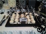Black and White 40th Birthday Party Decorations Black and White Birthday Party Ideas Photo 1 Of 12