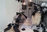 Black and White 40th Birthday Party Decorations Black and White Birthday Party Ideas Photo 8 Of 12