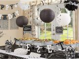 Black and White 40th Birthday Party Decorations Black White Birthday Party Supplies Party City