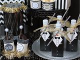 Black and White 50th Birthday Decorations Family Friendly Nye Party Laura 39 S Little Party