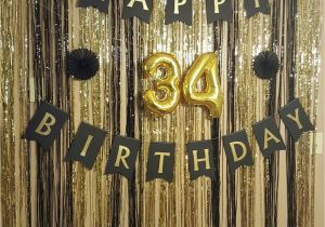 Black And White 50th Birthday Party Decorations Gold Surprise Decor