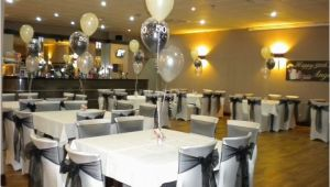 Black and White 50th Birthday Party Decorations Elegant 50th Birthday Decorations Black White 50th
