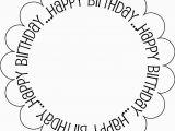 Black and White Birthday Cards Printable Printable Black and White Birthday Cards