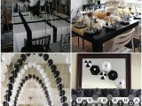 Black and White Birthday Party Decoration Ideas Black and White Graduation Party Ideas Father Daughter