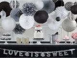 Black and White Birthday Party Decoration Ideas Black and White Wedding Party Supplies Party City Canada