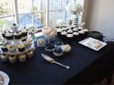Black and White Decorations for Birthday Party Black White themed Party More Than Cupcakes