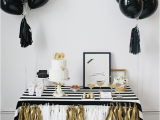 Black and White Decorations for Birthday Party Kate Spade Bridal Shower Ideas Galore B Lovely events