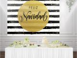 Black and White Striped Happy Birthday Banner Huayi Black and White Striped Happy Birthday Party Banner