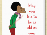 Black Man Birthday Card African American Male Birthday Card A African Birthday