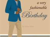 Black Man Birthday Card Birthday Man Have A Fashionable Birthday Card
