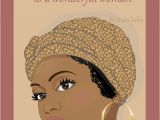 Black People Birthday Cards This Afrocentric Birthday Card for Women Shows the Face Of