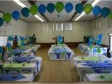 Blue and Green Birthday Party Decorations Blue and Green Baptism Party Ideas Photo 4 Of 7 Catch
